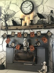 The Best Halloween Fireplace Decoration This Year 13
