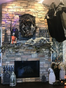 The Best Halloween Fireplace Decoration This Year 31