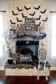 The Best Halloween Fireplace Decoration This Year 37