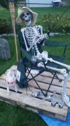The Most Creepy Halloween Garden Decoration in Years 10