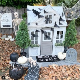 The Most Creepy Halloween Garden Decoration in Years 54