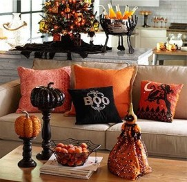 The Most Interesting Family Room Arrangement on This Halloween 01