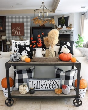 The Most Interesting Family Room Arrangement on This Halloween 15
