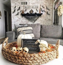 The Most Interesting Family Room Arrangement on This Halloween 20