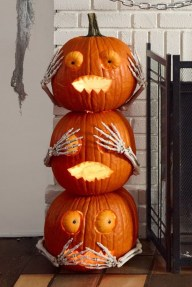 The Most Scary DIY Halloween Decoration Ideas For Your Home 05