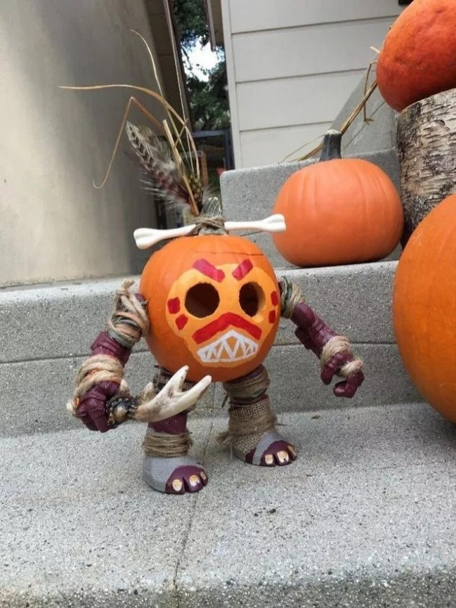 The Most Scary DIY Halloween Decoration Ideas For Your Home 37