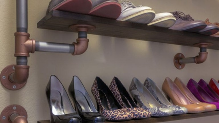32 DIY Shoe Storage Ideas to Keep Your Home Neat