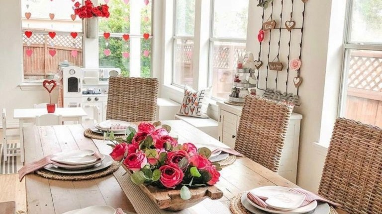 25 Dining Room Design Ideas for Valentine's Day Celebrations