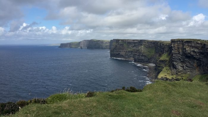 The dramatic landscape of the Cliffs of Moher