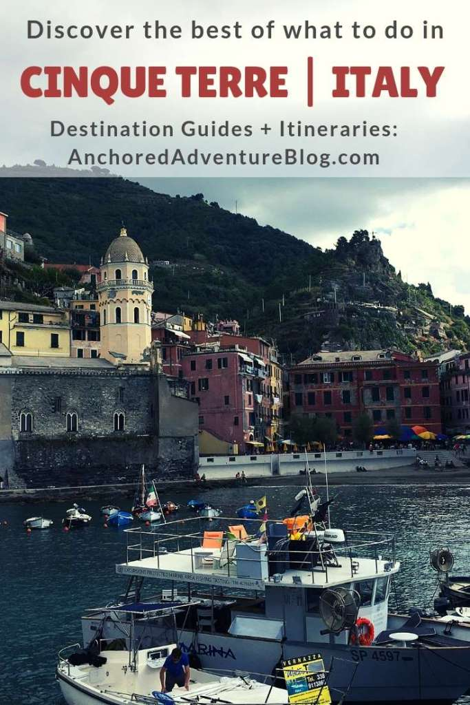 This comprehensive Cinque Terre travel planning guide will ensure you discover the best of what to do in Cinque Terre. This guide recommends one, two and three day itineraries. Spend a few days though, as it gives you enough time to fully explore all five villages. Cinque Terre is the place where you want to relax, do a bit of hiking, eat plenty of seafood, marvel at magnificent sunsets, taste yummy wines and best of all — swim in the sea!  #cinqueterre #italy #travel #europe #manarola