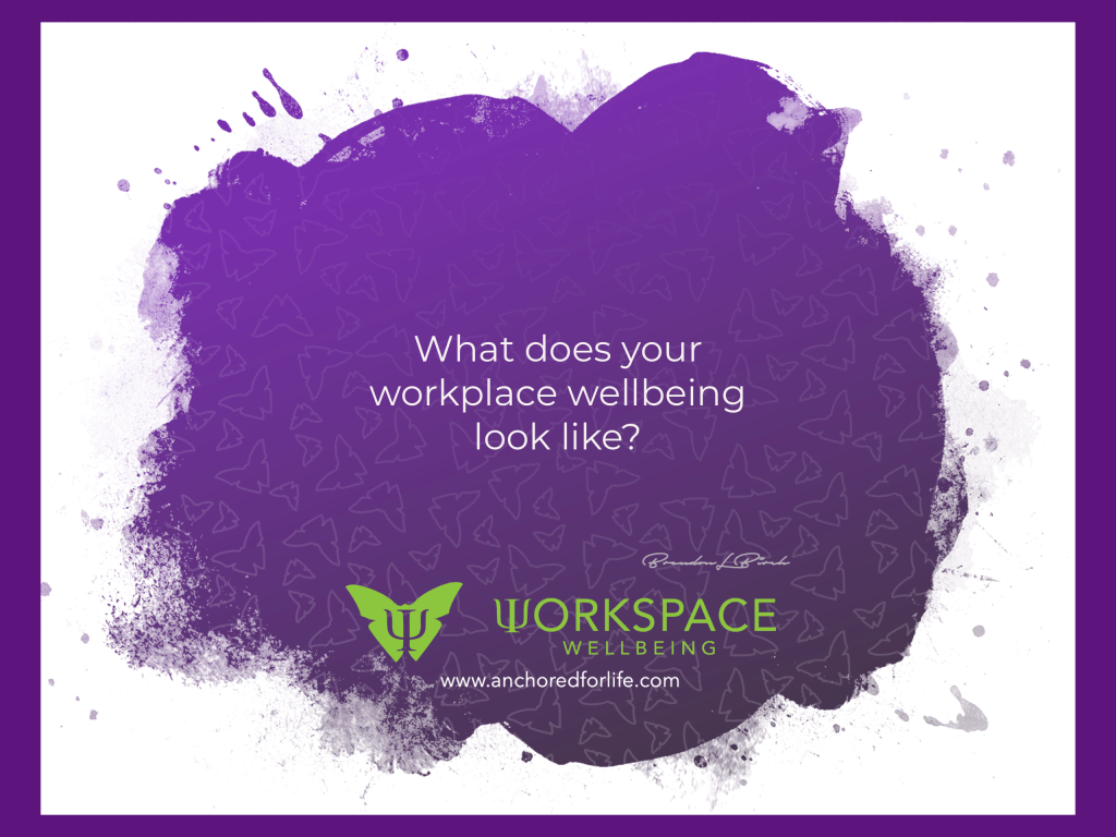 what does your workspace wellbeing look like?