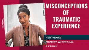 Misconceptions of trauma