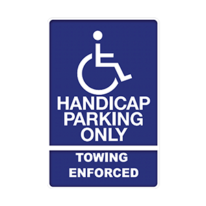 Handicap Signs Main