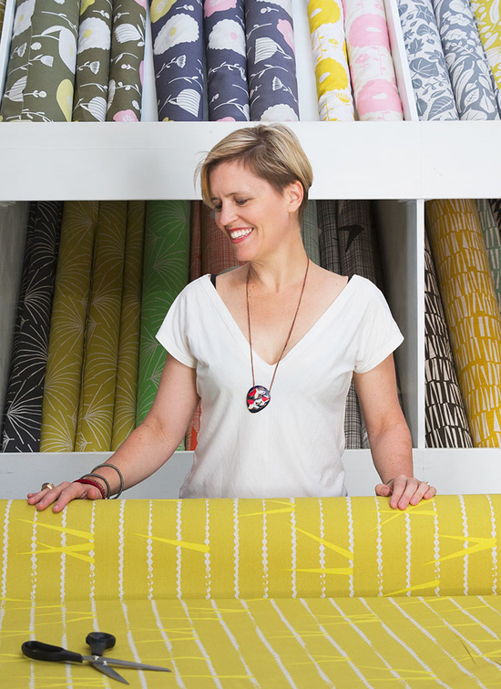 Heather Moore in her Cape Town shop.