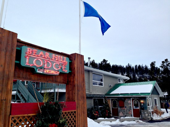 The Bear Hill Lodge is one of three year-round cabin operations in Jasper.
