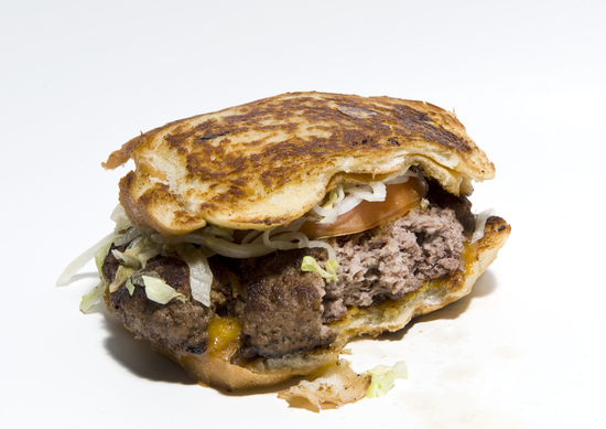 Wiseguy foods burgers ooze with awesome. Photo credit: Pat Kane