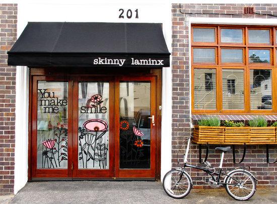 Bree Street is full of indie shops and eateries like Skinny LaMinx.