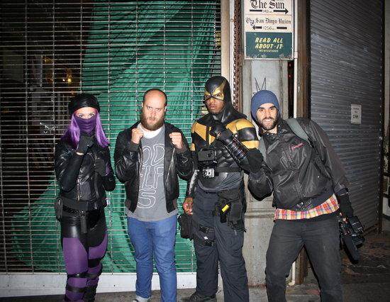 Just hanging with vigilante superheros in Seattle. NBD.
