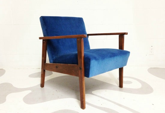Love this mid-century modern chair from Etsy