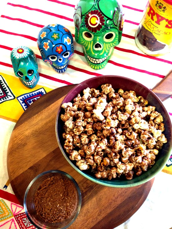 Easy, Addictive Mexican Spiced Chocolate Popcorn