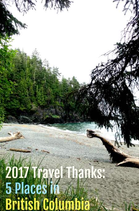 Thanks for the great trip: 5 BC Adventures to be thankful for