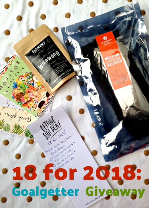 What's on your 18 for 2018 list?