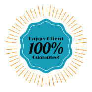 Happy Client Badge