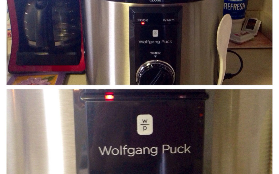 My Wolfgang Puck Pressure Cooker