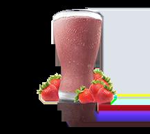 strawberry shakeO