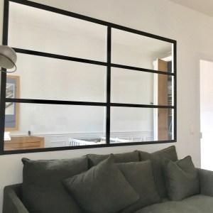 Interior glass wall 2