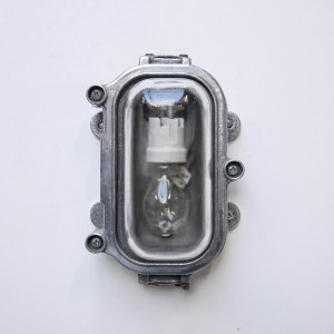 wall light cccp, transparent glass anciellitude