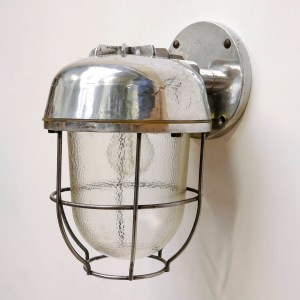 Wall light, hammered glass anciellitude