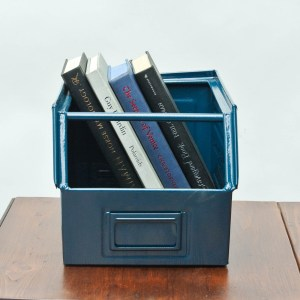 anciellitude Coloured metallic crates - Pigeon blue