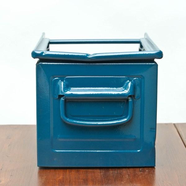 caisse schafer bleu canard anciellitude