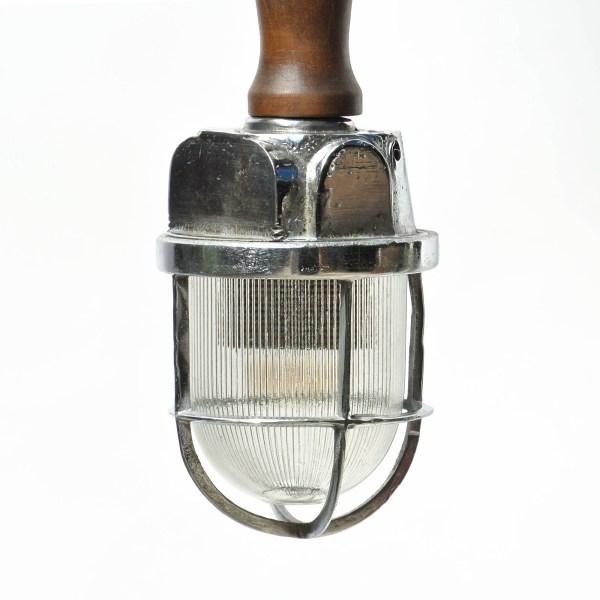 Mini baladeuse au verre strié anciellitude