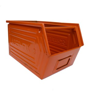 "Coloured Metallic Crates – ""Orange""» anciellitude"