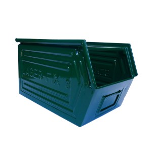"Coloured Metallic Crates – ""Deep Green"" anciellitude"