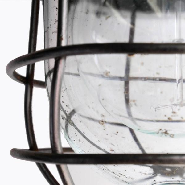 Ancienne suspension industrielle à grand crochet anciellitude