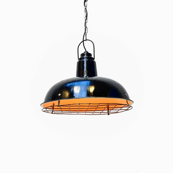 Black Ceiling Light with Flat Grid  anciellitude