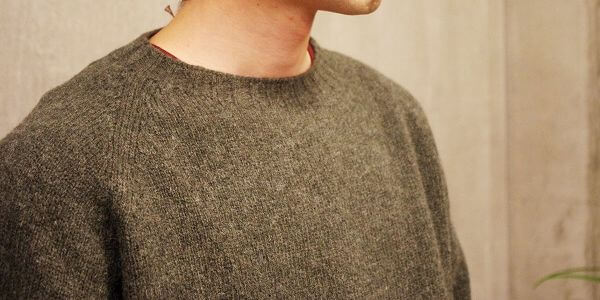 真意- L/S CREWNECK SWEATER -