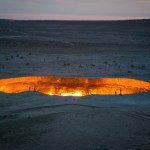 Hell On Earth: A Massive Crater In The Middle Of The Desert Has Been Burning For Decades