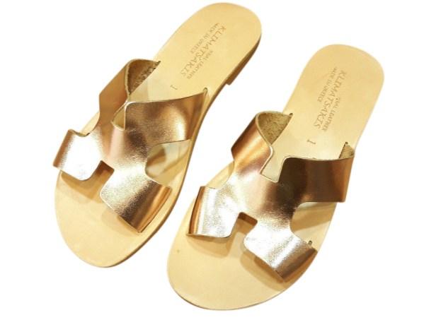 greek handmade leather sandals 358