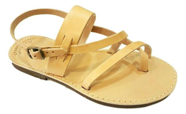 greek handmade leather sandals 604