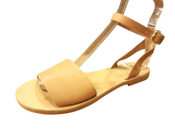greek handmade leather sandals 339