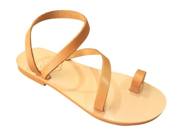 greek handmade leather sandals 205 e1527865559316
