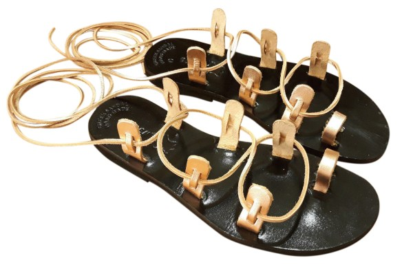 greek handmade leather sandals 354