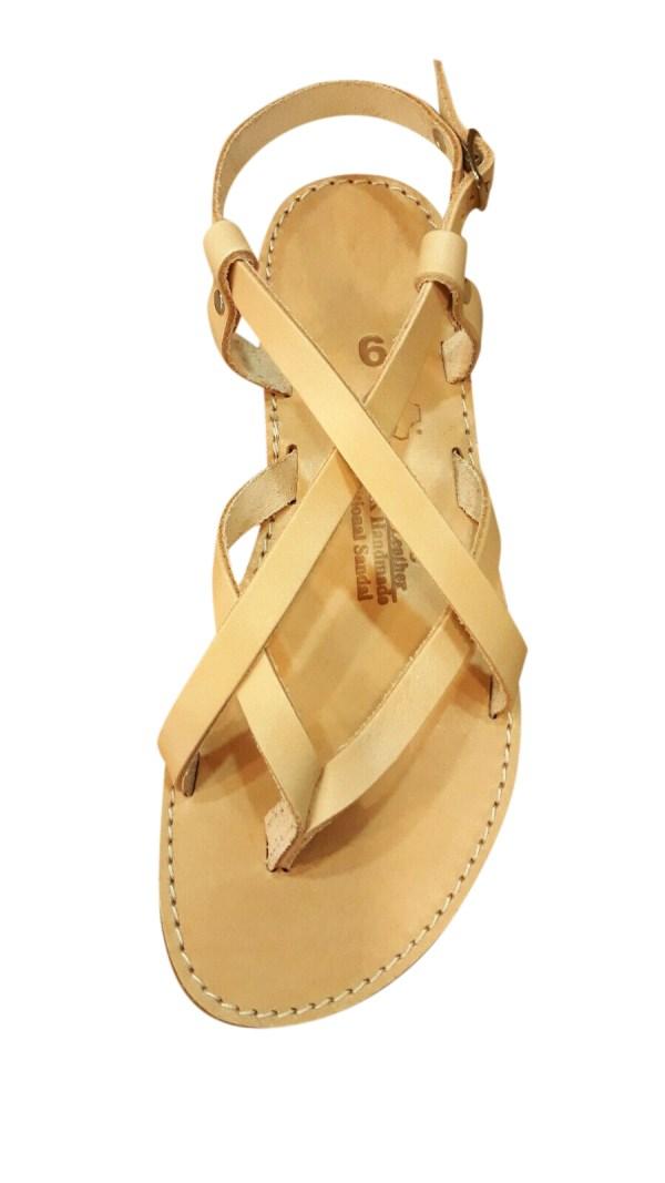 greek handmade leather sandals 533