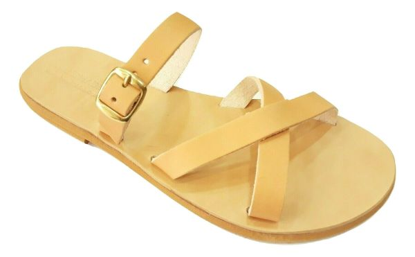 greek handmade leather sandals 653