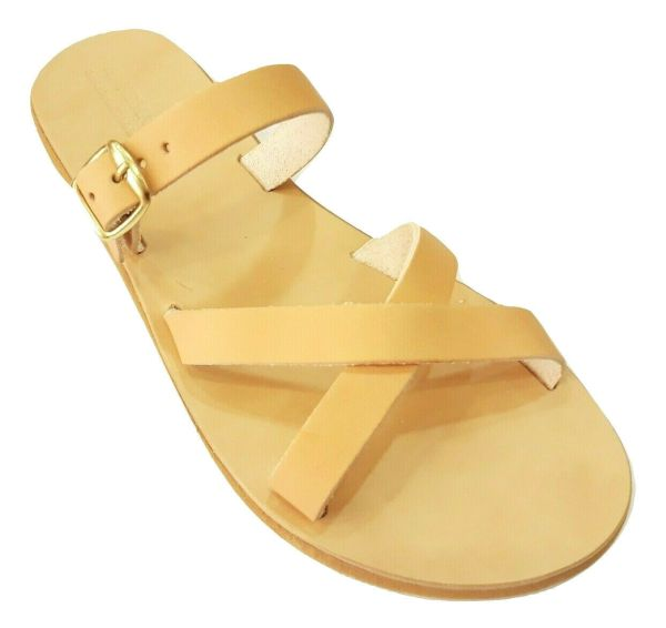 greek handmade leather sandals 655