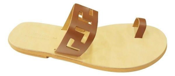 greek handmade leather sandals 677